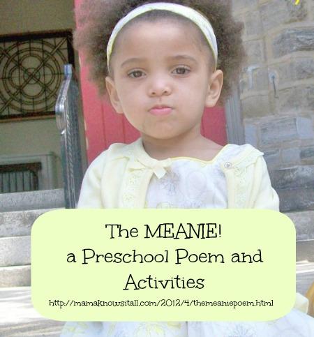 poetry, preschool, poem, Mama Knows It All