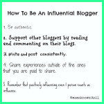 A Non-Influential Post About Being Influential