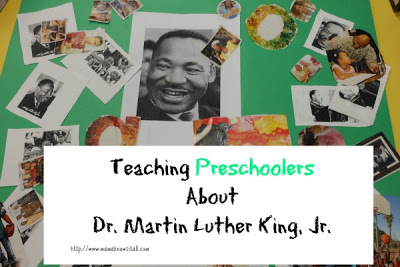 Teaching Preschoolers About Dr. Martin Luther King, Jr.