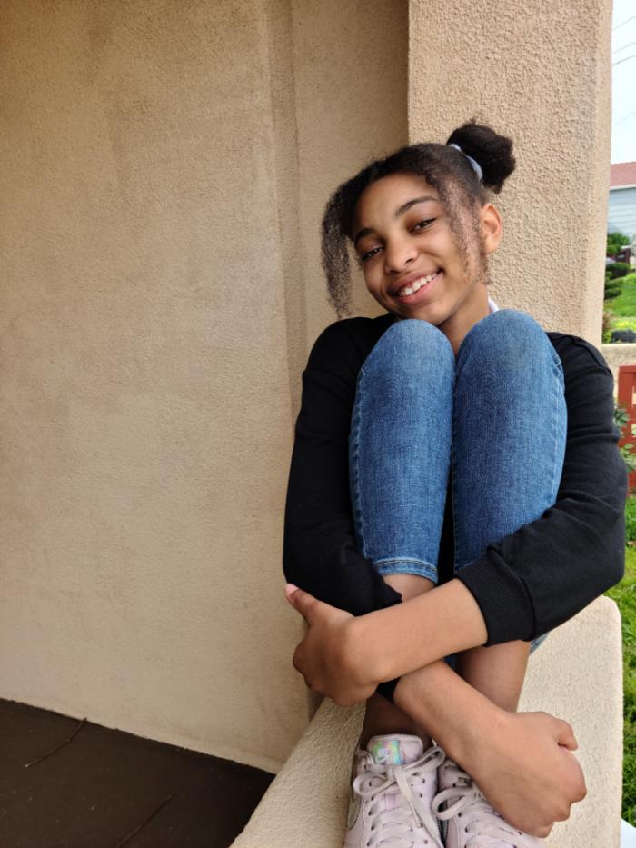 tween black girl