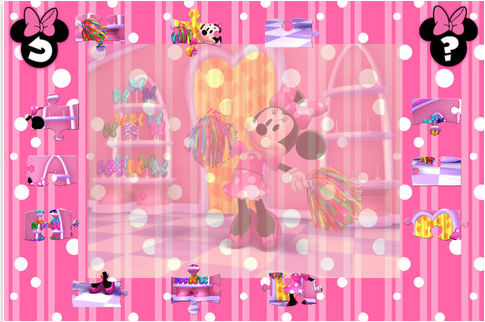 apps for preschoolers, Minnie Mouse