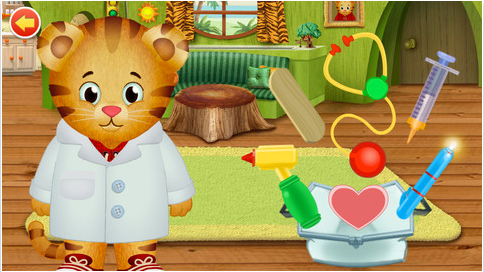 apps for preschoolers, Mama Knows It All, Daniel Tiger