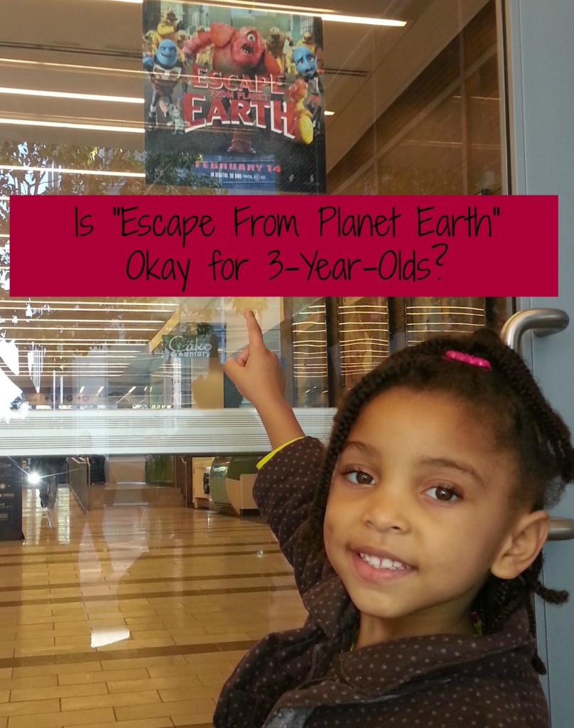 "Is ""Escape From Planet Earth"" Okay for 3-Year-Olds?"