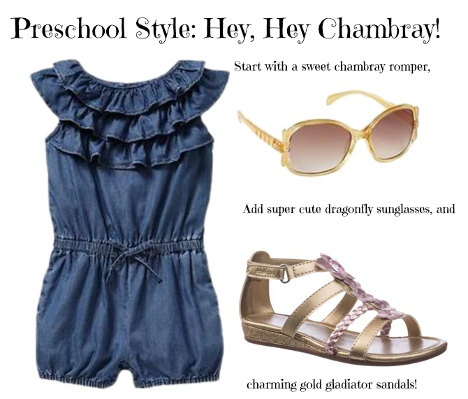 Preschool Style: Hey, Hey Chambray!