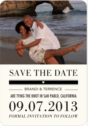 Save the Date Magnet, Wedding Paper Divas, Mama Knows It All