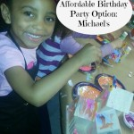 An Affordable Birthday Party Option: Michael's