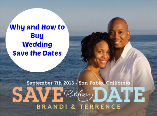 Wedding Save the Dates: How and Why to Buy Them