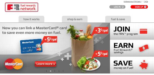 Fuel Rewards, MasterCard, gas rewards program