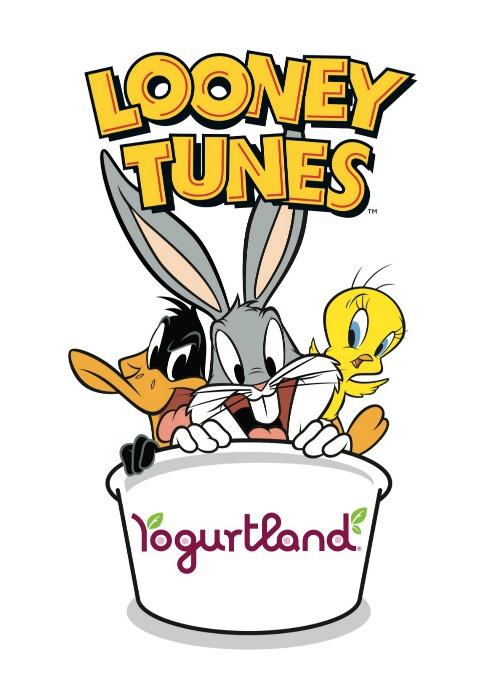 Yogurtland Looney Tunes