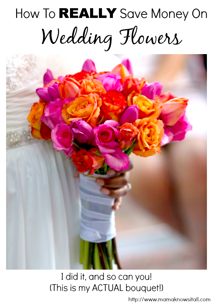 How To Save Money On Flowers for Your Wedding - Mama Knows It All