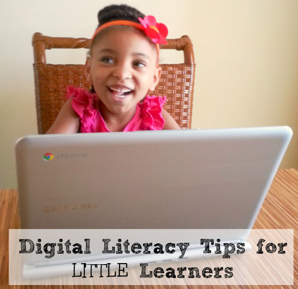 Mama Knows It All, preschool, digital literacy tips, ChromeBook
