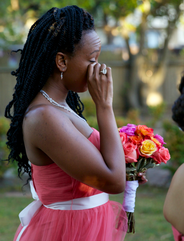 bridesmaid crying, Mama Knows It All