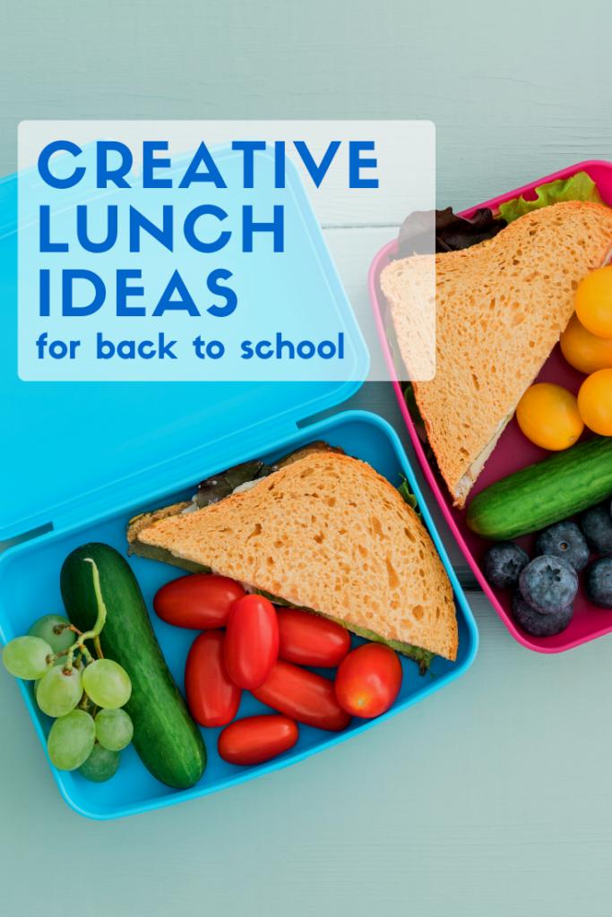 creative lunch ideas