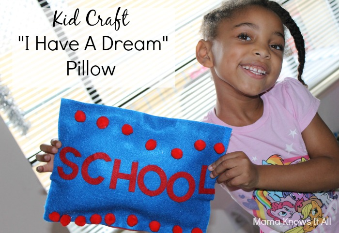 I Have A Dream Pillow