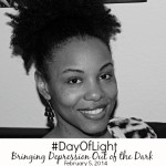 Bringing Depression Out Of The Dark #DayOfLight