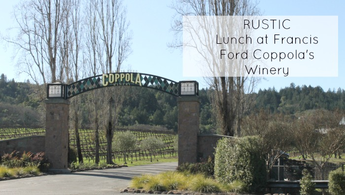 Rustic at Francis Ford Coppola Winery