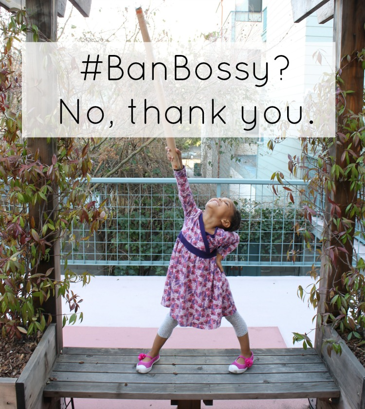 We're Not Going To #BanBossy