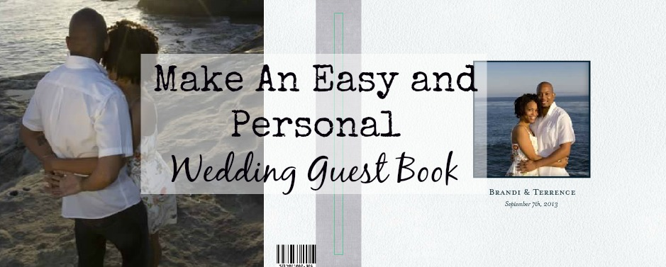 Our Easy and Personal Wedding Guest Book