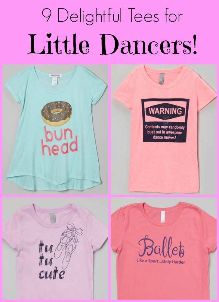 9 Delightful Tees for Little Dancers