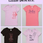 Delightful Tee-Shirts For Little Dancers