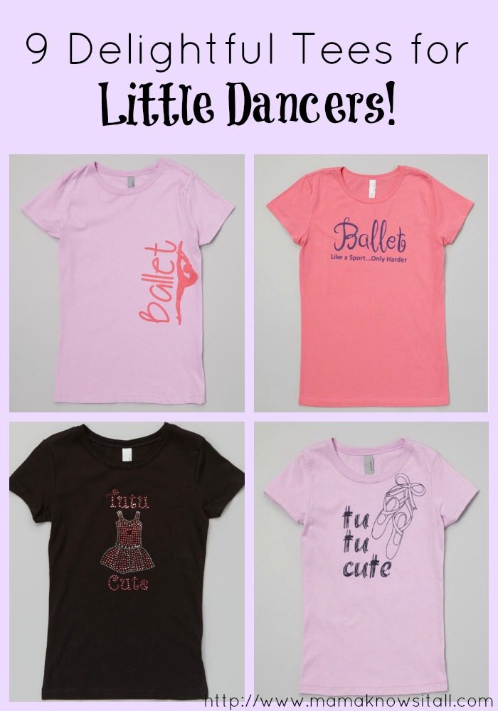 Delightful Tees for Little Dancers
