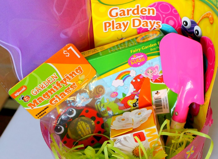 Fairy Garden Themed Basket (Not Just For Easter!) #TargetColors