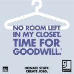 Clean Closet. Donate Stuff. Create Jobs.
