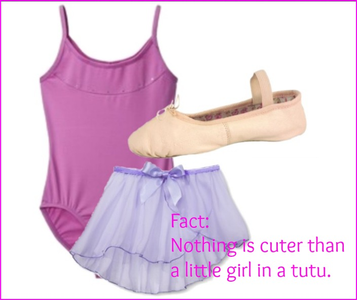 Fact: Nothing is cuter than a little girl in a tutu.