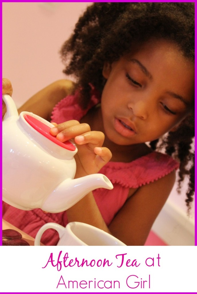 Afternoon Tea at American Girl