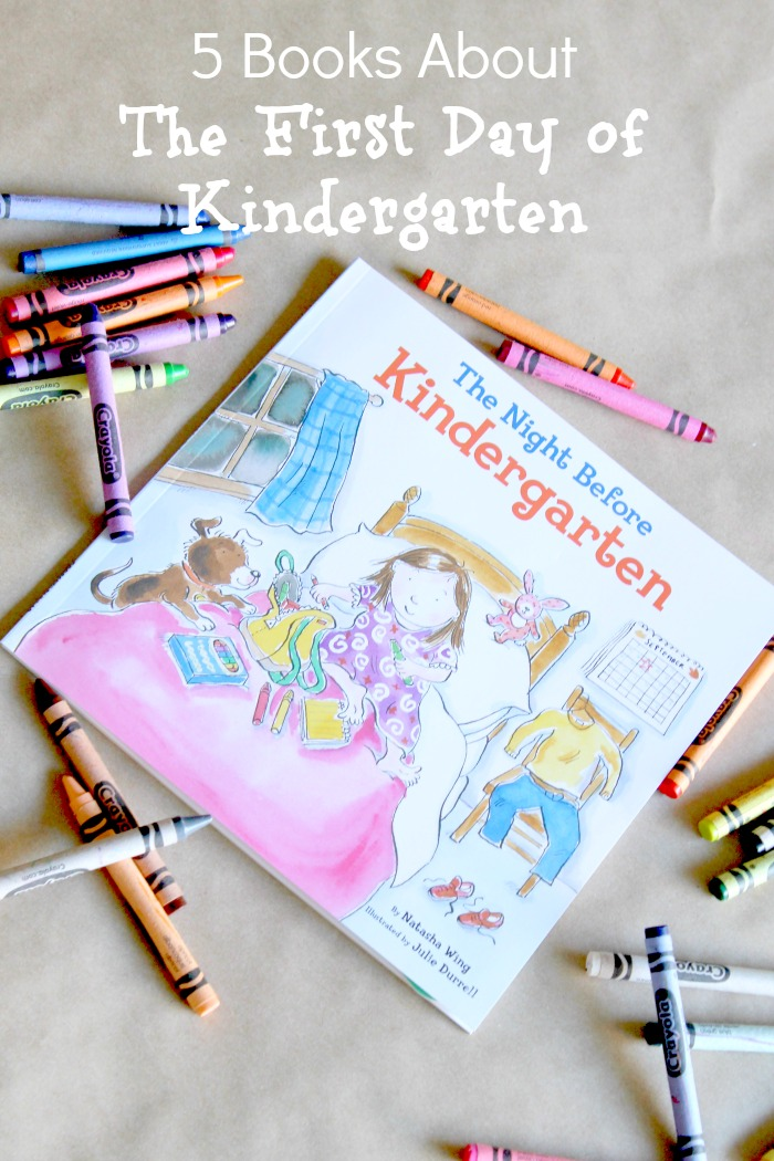 5 Books About the First Day of Kindergarten