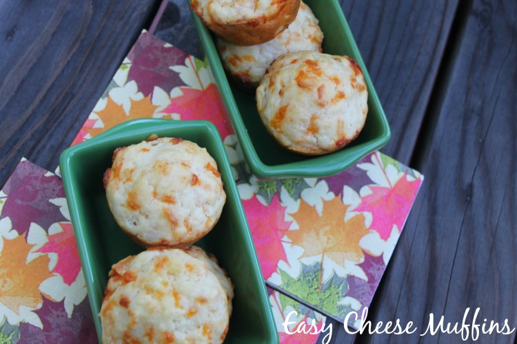 Easy Cheese Muffins - Mama Knows It All