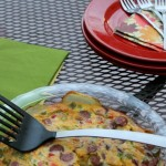 Potato, Sausage and Pepper Frittata