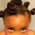 Easy Big Hair For Your Little Natural Girl