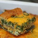 Delicious Spinach And Sausage Breakfast Casserole