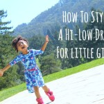 The Hi-Low Dress: How Little Girls Can Wear It