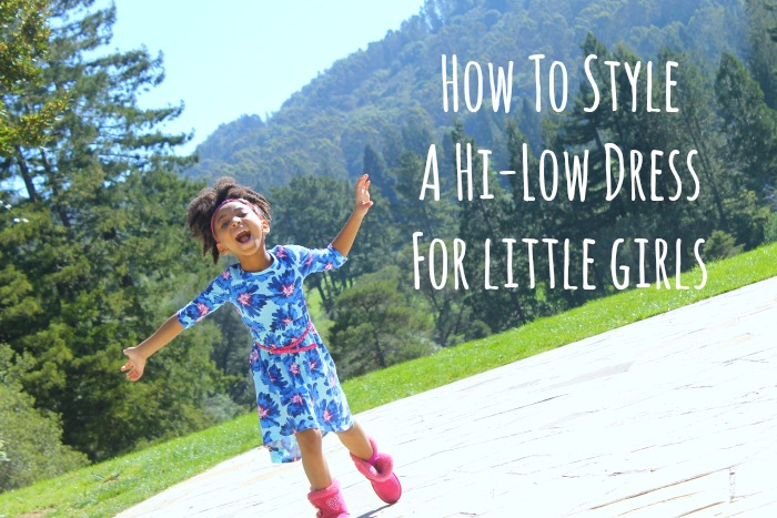 How To Style A Hi-Low Dress For Little Girls