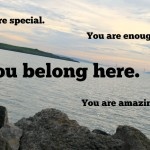 You Belong Here. Don't Let Comparison Tell You Otherwise.