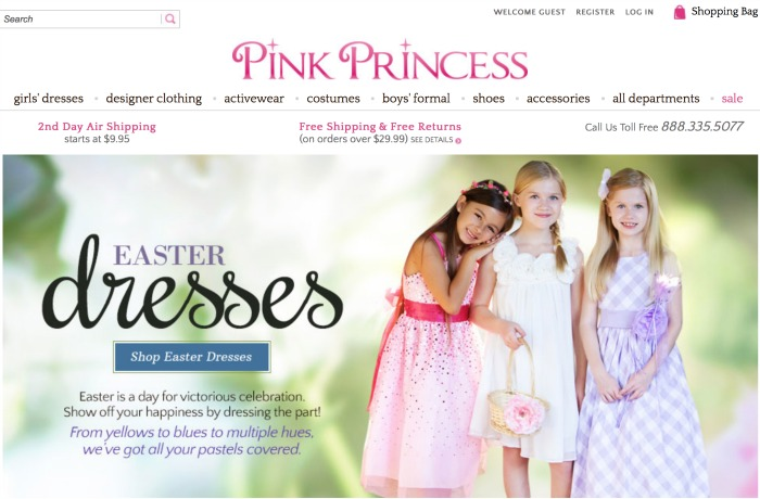 pink princess dot com