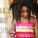 Ayva's Many Hairstyles + A Hair Update