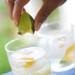 Mango and Lime Caipirosca