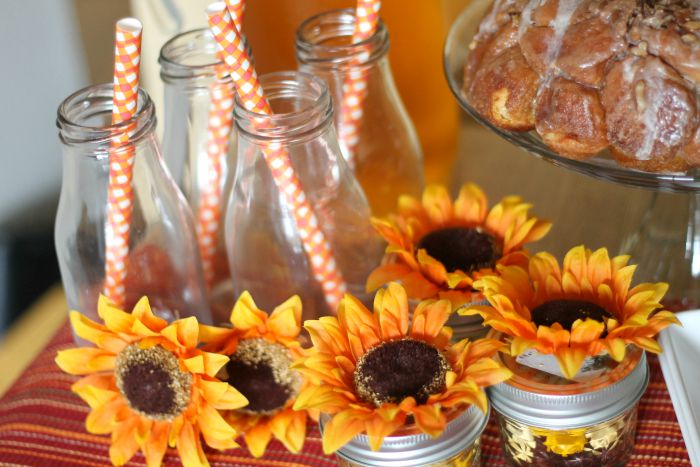 candy and flower jars