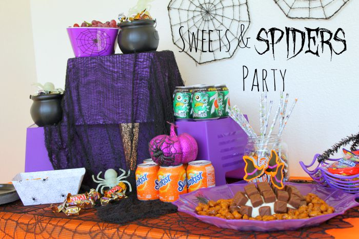 sweets & spiders party 1