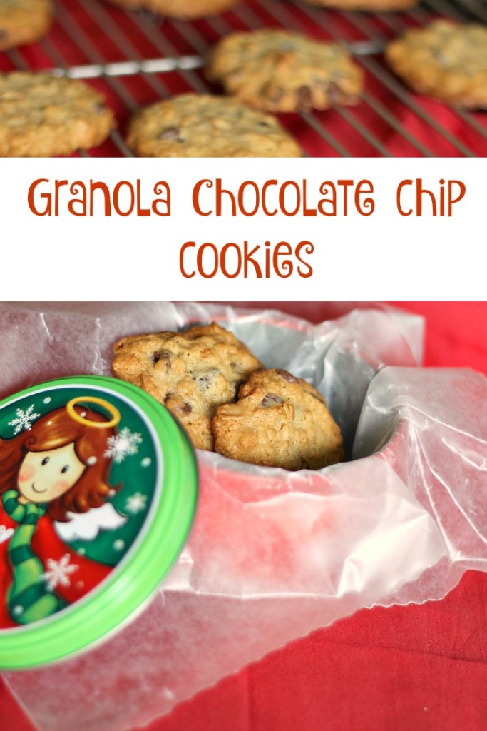 granola chocolate chip cookies 3