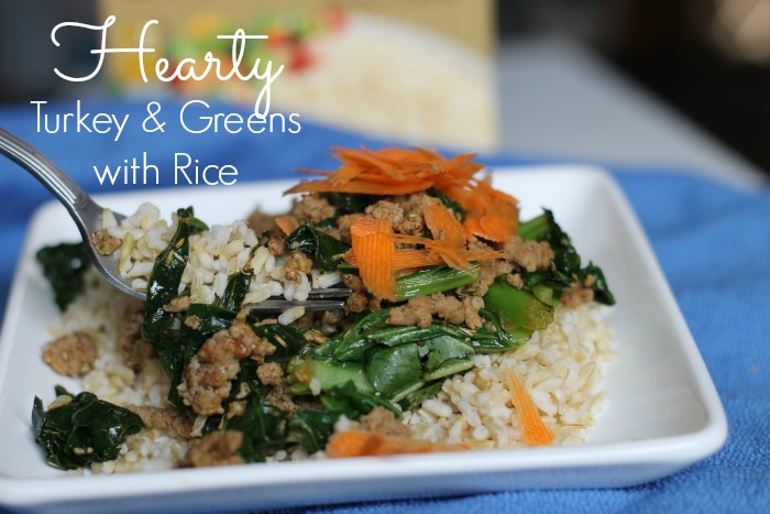 Hearty Turkey & Greens with Brown Rice
