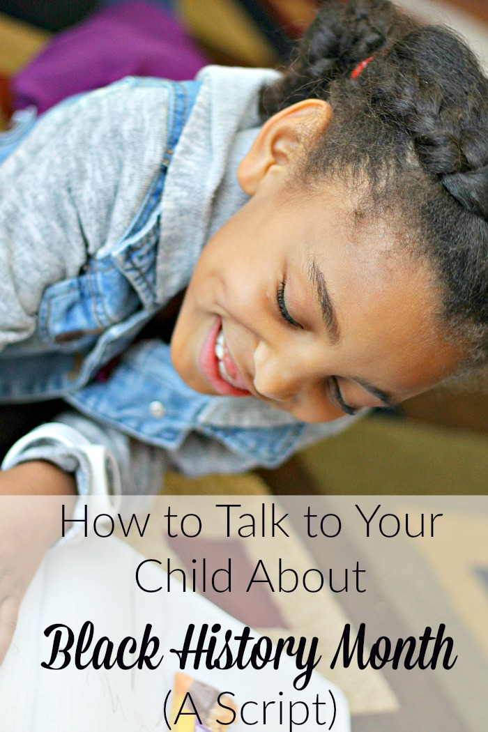 how to talk to your child about black history month