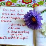Make a Mommy & Me Journal to Connect With Your Daughter