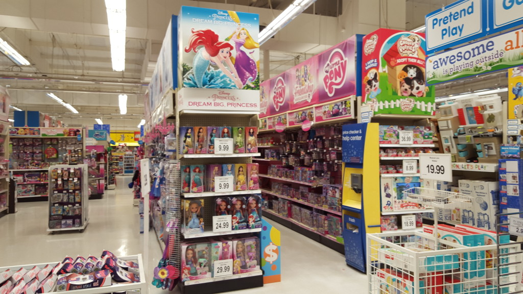 dream big princess endcap