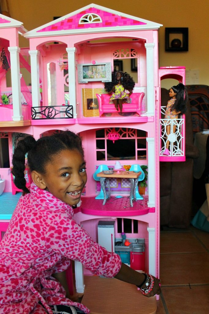 Joy and the Barbie Dreamhouse