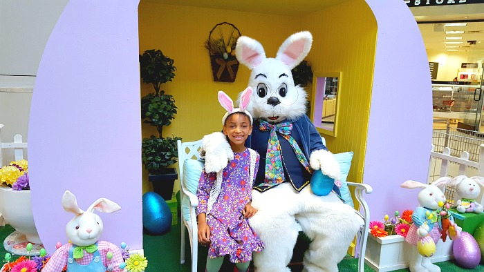 The Easter Bunny is at Great Mall