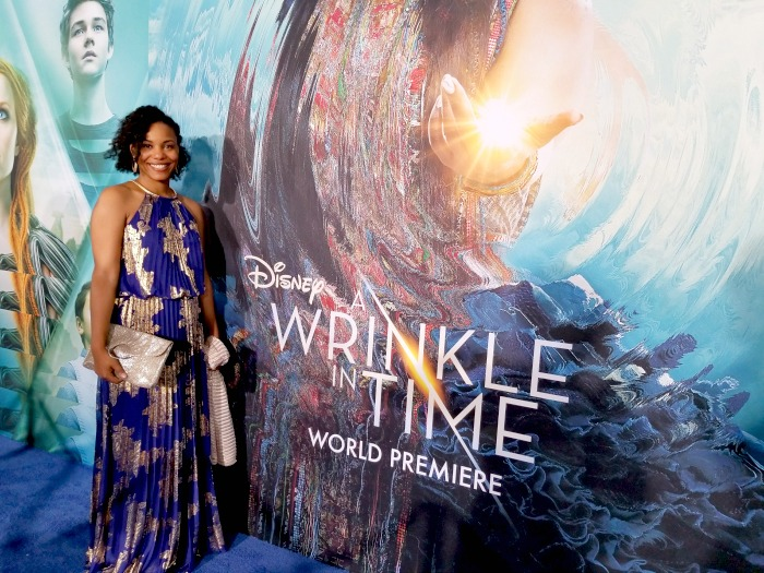 I went to the world premiere of 'A Wrinkle In Time' and didn't go how I planned